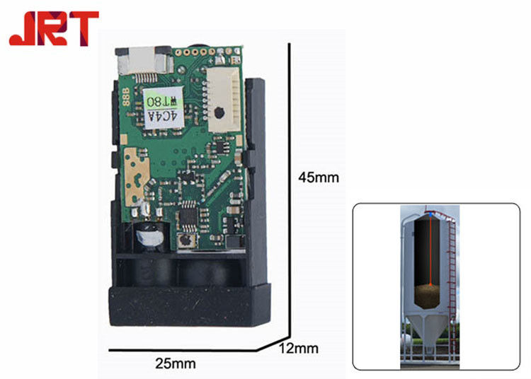 M88 50m RS485 High Accuracy Distance Sensor , Laser Height Sensor 300mA Agricultural Automation